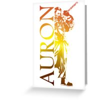 Auron - Final Fantasy X Greeting Card