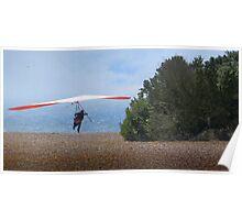Fort Funston Hang Glide Takeoff Poster