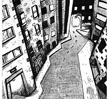 'Crooked Street in a Crooked City' by Jerry Kirk