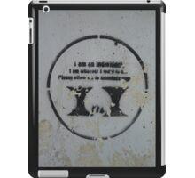 Street Art 4 iPad Case/Skin