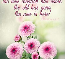 """...the new has come..."" by Donna Keevers Driver"