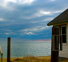 Provincetown Cabin by GleaPhotography