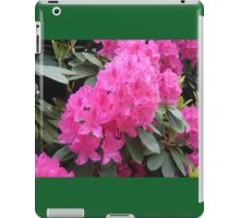 Hot Pink Rhododendrons for your ipad! iPad Case/Skin