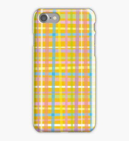 PLAID-3 iPhone Case/Skin