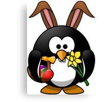 Easter Penguin Canvas Print