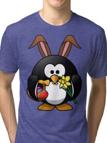 Easter Penguin Tri-blend T-Shirt