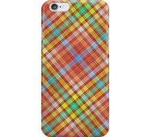 PLAID-8 iPhone Case/Skin