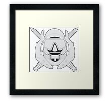 Special Operations Diver Framed Print