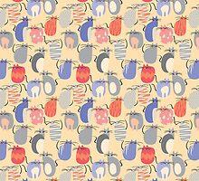 CARTOON PATTERN-mice by Pattern-Color