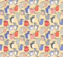 CARTOON PATTERN-mice by Pattern-Color
