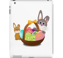 Easter Eggs with Rabbit Baby iPad Case/Skin