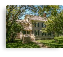 Grover Cleveland's Birthplace, Caldwell NJ, USA Canvas Print