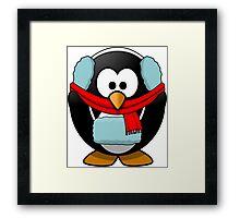Freezin Penguin Framed Print