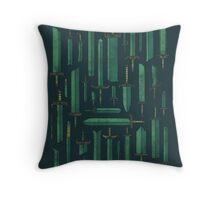 Bunch of Blades Throw Pillow