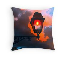 Luci di Roma Throw Pillow