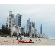 Surf Rescue Broadbeach April 2014 #2 Photographic Print