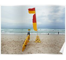 Broadbeach Surf Rescue Poster