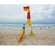 Broadbeach Surf Rescue Photographic Print