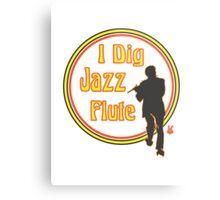 Jazz Flute Metal Print