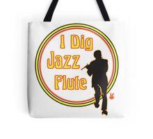 Jazz Flute Tote Bag