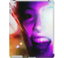 Colorful Scream iPad Case/Skin