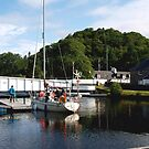 Caledonian Canal in Inverness by kalaryder