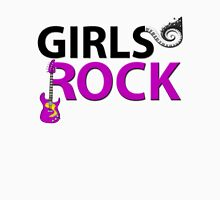 Girls Rock Guitar Piano Keys & Music Unisex T-Shirt