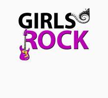 Girls Rock Guitar Piano Keys & Music Unisex T-Shirt