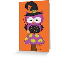 Witchy Owl  Greeting Card