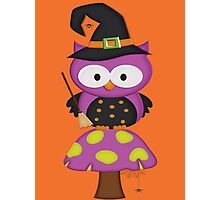 Witchy Owl  Photographic Print