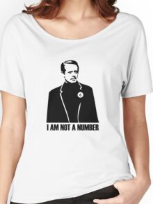 I Am Not A Number Women's Relaxed Fit T-Shirt