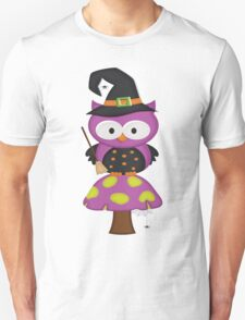 Witchy Owl  Unisex T-Shirt
