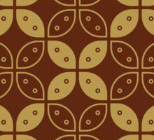 Javanese Batik Kawung Marquise Diamond Chain Sticker