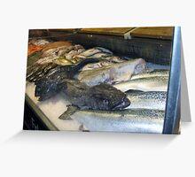 Stockholm Fish Market Stacker Greeting Card