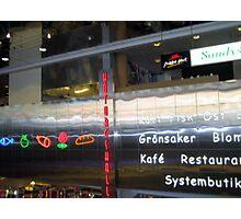 Stockholm Sign Photographic Print
