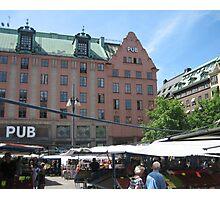 Stockholm Square Photographic Print