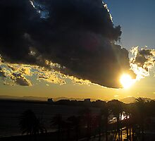 Every silver lining has a cloud. by Paul Pasco