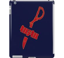 Scissor Stab iPad Case/Skin