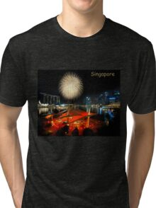 Fireworks By The Bay (T/SG) Tri-blend T-Shirt