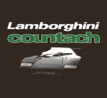 countach t-shirt by verde57