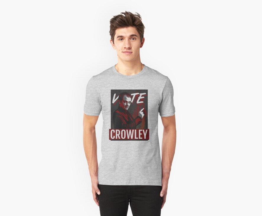 Vote Crowley for King of Hell by webgeekist