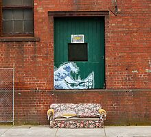 Brunswick Abandoned - Couch. Melbourne by Suzanne Phoenix