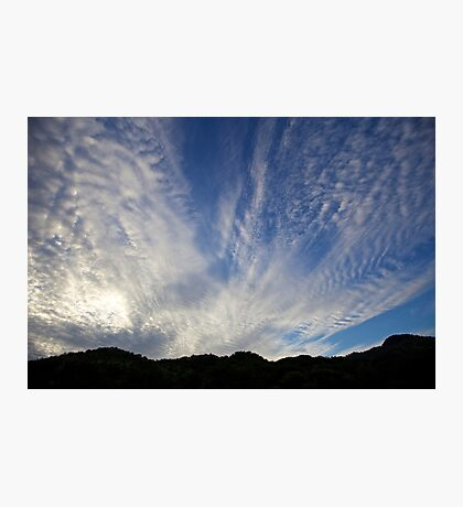 Morning Sky: Africa Photographic Print