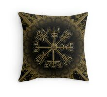 Vegvisir - Icelandic Magical Stave - Protection & Navigation  Throw Pillow