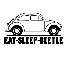 VW - Beetle  Photographic Print