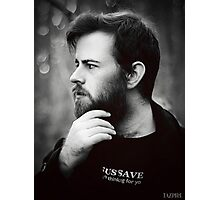 Handsome devil Photographic Print