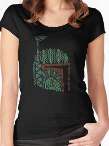Tribal Bounty Hunter Women's Fitted Scoop T-Shirt