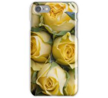 Bouquet of yellow roses iPhone Case/Skin