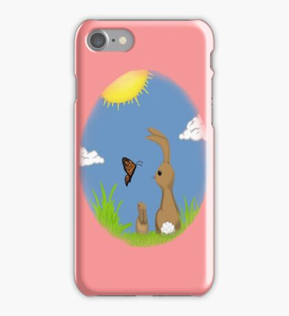 Spring time Bunny KANDY ™  iphone case iPhone Case/Skin