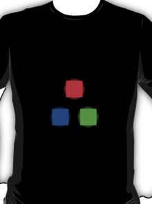 RBG Glowing Pixels T-Shirt